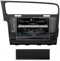 geschikt voor Volkswagen Golf 7 Autoradio navigatie full europa incl 8 inch HD scherm